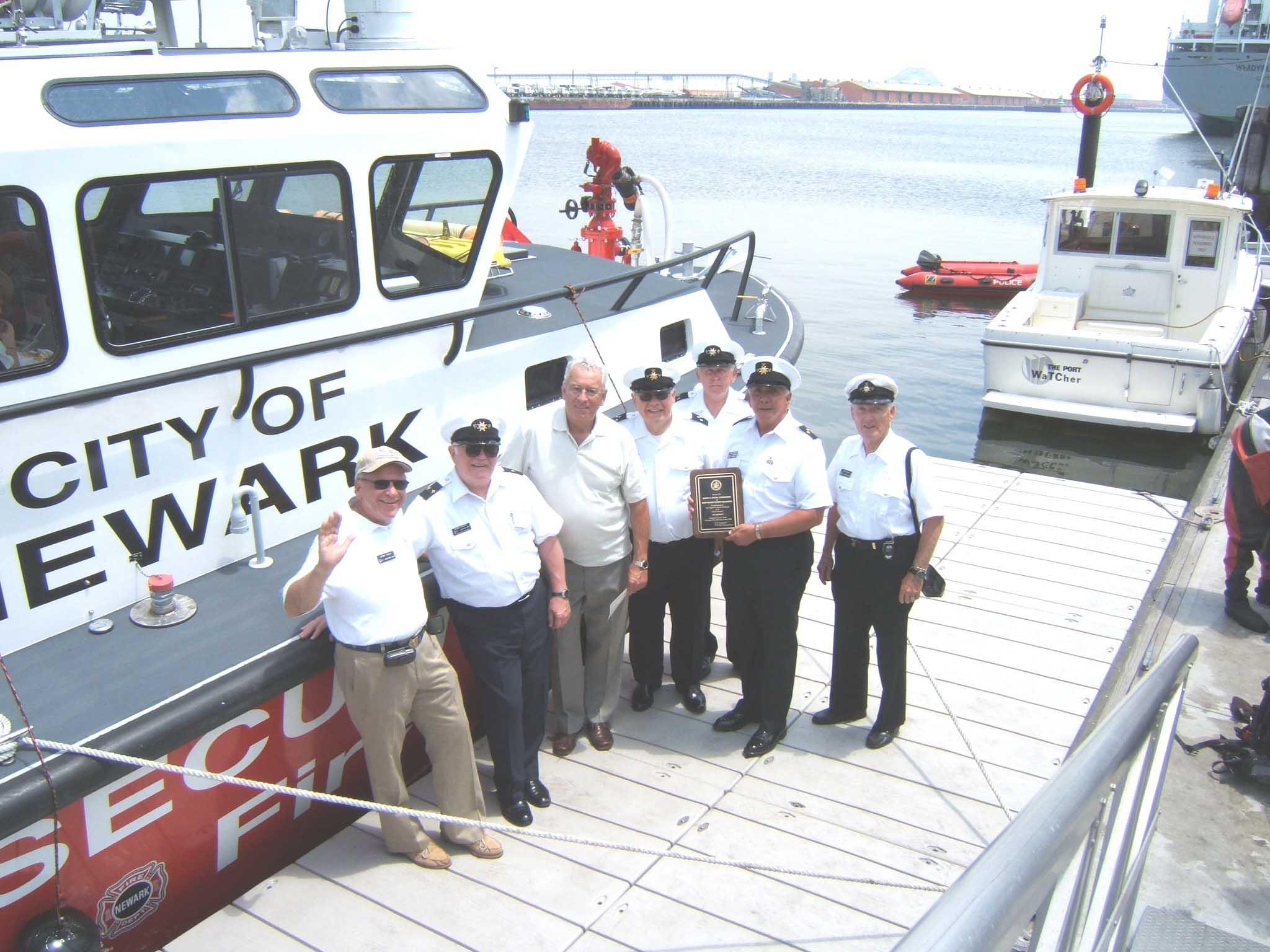 Newark Boat Christening DSCF0211w